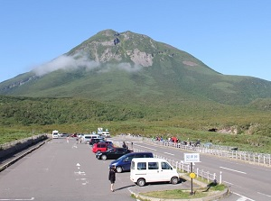 Shiretoko Pass near Mt.Rausu