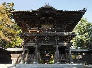 Main gate of Ho-onji