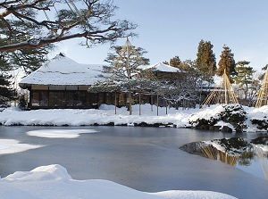 Oyakuen in winter