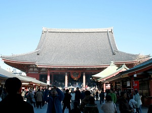 Main hall of Sensoji
