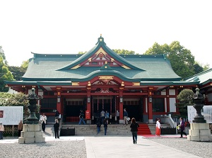 Main Hall of Hie Shrine