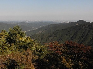 View from Mitake-daira