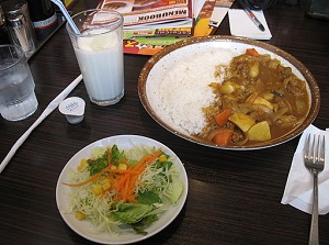 Navy Curry and Rice