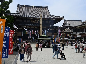 Main temple of Kawasaki Daishi