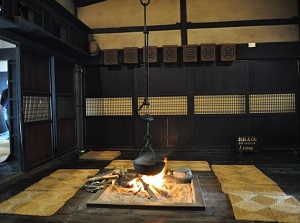 A room in Misawa House