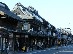 Old town in Kawagoe