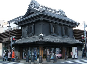 A house with the structure of Japanese storehouse