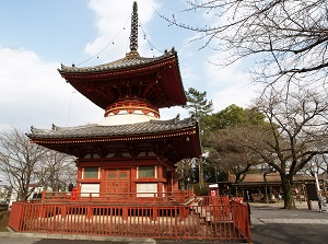 Tahoto (Two-storied Pagoda) in Kitain
