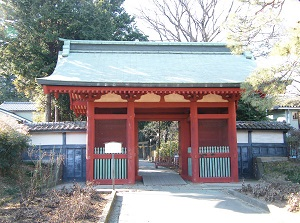 Entrance gate of Senba Toshogu