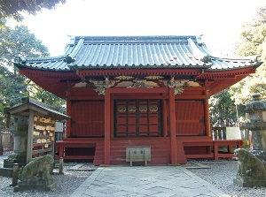 Main shrine of Senba Toshogu