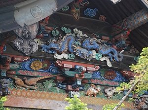Carvings of Chichibu Shrine