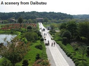 A scenery from Daibutsu