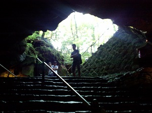 Entrance of Fugaku Wind Cave