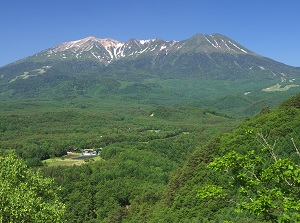 Mount Ontake in summer