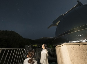 Starry sky in Nigorigo Onsen