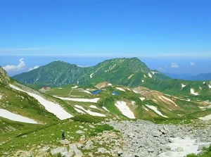 Murodo-daira of Mount Tateyama