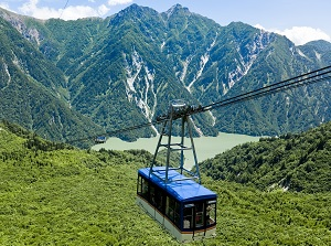 Ropeway between Daikanbo and Kurobe-daira