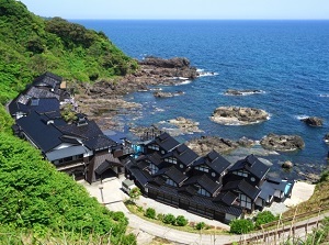 Cape Suzu and a ryokan