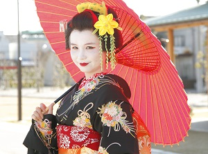 Geisha Maiko Dress up Experiencea