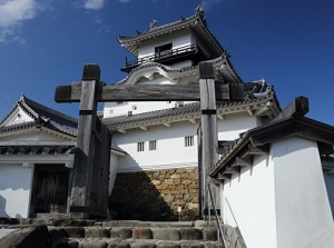 Entrance of Kakegawa Castle