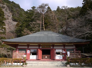 Main temple of Horaiji