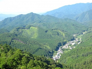 Scenery from Horaiji