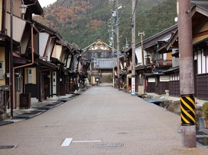 Old town in Gujo-Hachiman