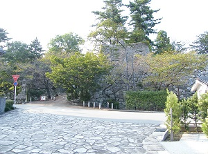 Entrance to Matsusaka Castle