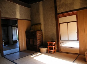 A room in Gojoban-yashiki