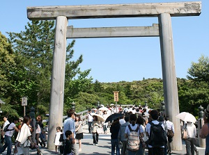 Entrance of Naiku