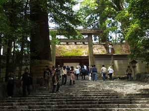 Main shrine of Naiku