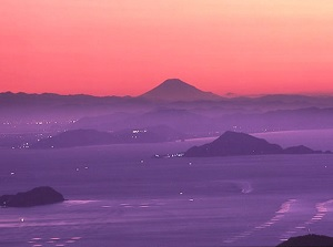 Mt.Fuji from Ise-Shima Skyline