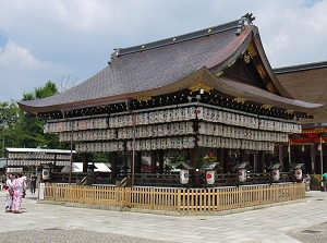 Buden of Yasaka Shrine