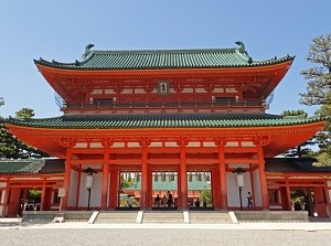 Outenmon of Heian Shrine