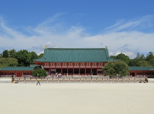 Daigokuden of Heian Shrine