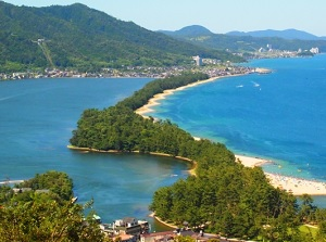 Amanohashidate from View Land