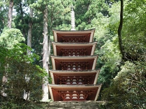 Five-story Pagoda of Murouji