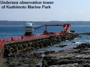Undersea observation tower of Kushimoto Marine Park