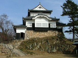 Castle tower of Bitchu-Matsuyama Castle