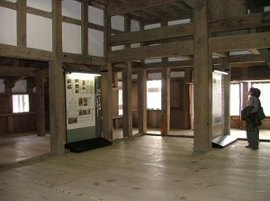 Inside of Bitchu-Matsuyama Castle