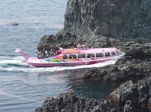 Pleasure boat of Oumijima