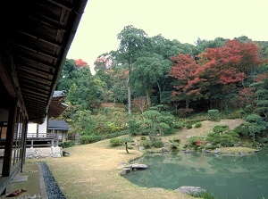 Japanese garden of Kannon-in