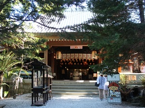 Main temple of Ryozenji