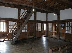 Inside of Uwajima Castle