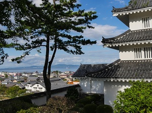 View from Shimabara Castle