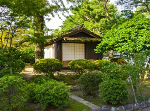 Old rest house in Shimabara Castle